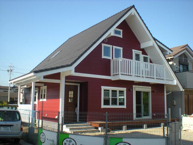 愛知県北欧スタイルの家