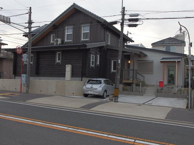 愛知県マシンカットログハウス+店舗