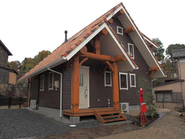 愛知県木造個性派住宅