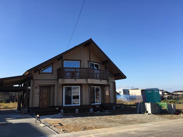 富山県マシンカットログハウス