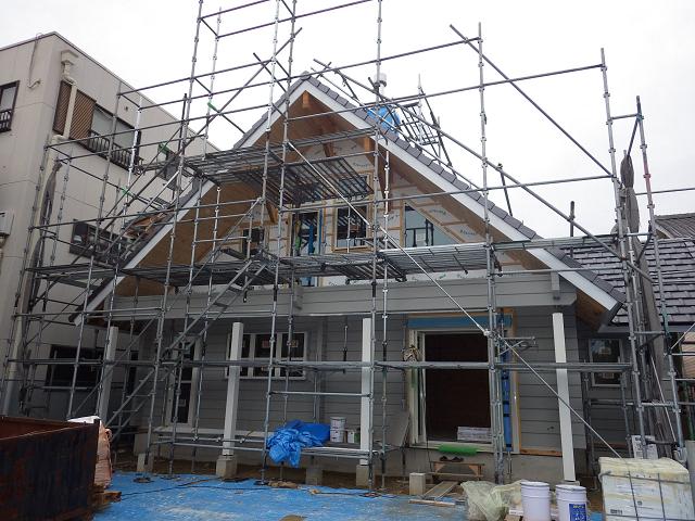 愛知県桧のマシンカットログハウス