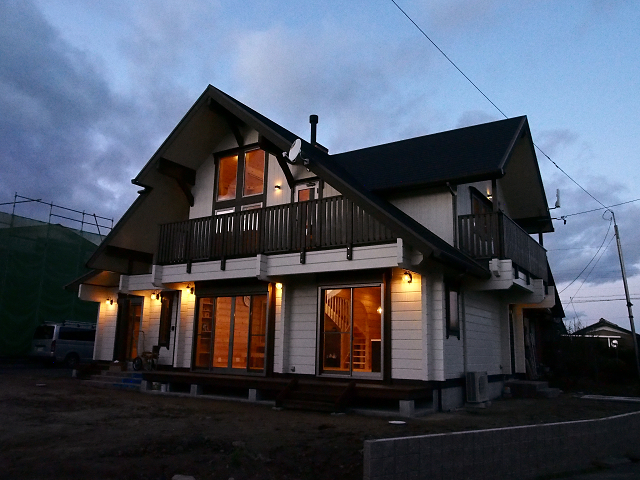 愛知県マシンカットログハウス
